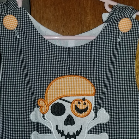3519bb26 stellybelly Matching Sets | Halloween Skull Long Jon Jon | Poshmark